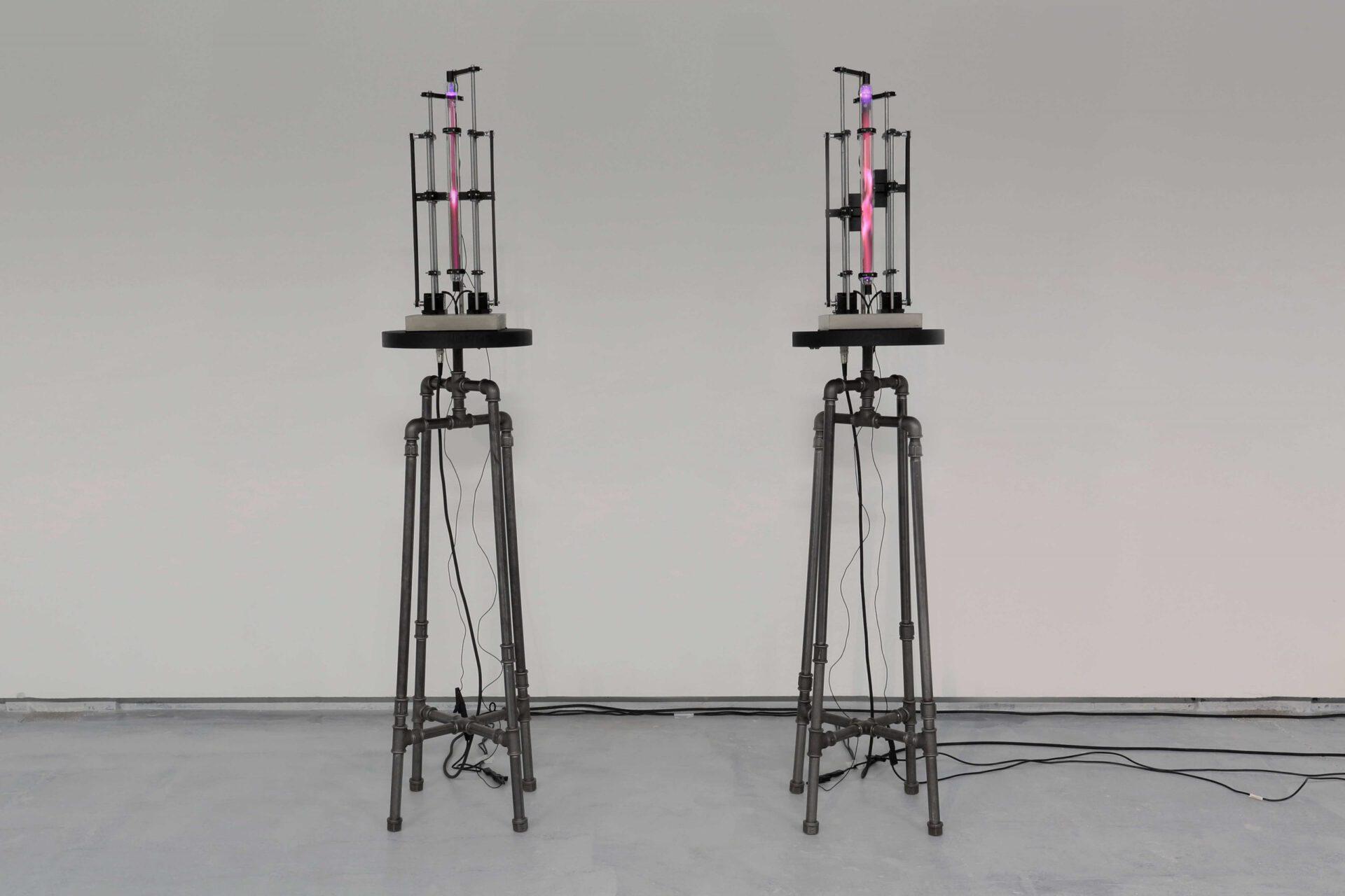 verena bachl phantom ballet light art installation