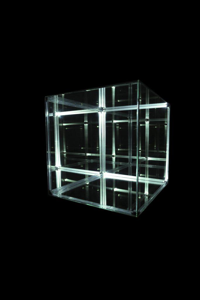 verena bachl void light sculpture